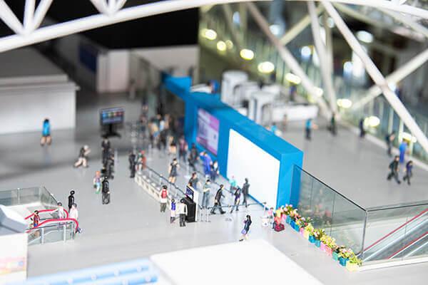 SMALL WORLDS TOKYO 关西国际机场区域