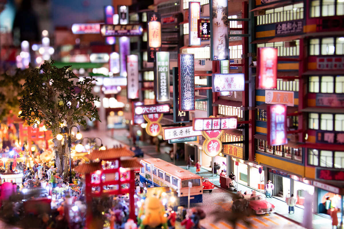 SMALL WORLDS TOKYO 世界の街エリア