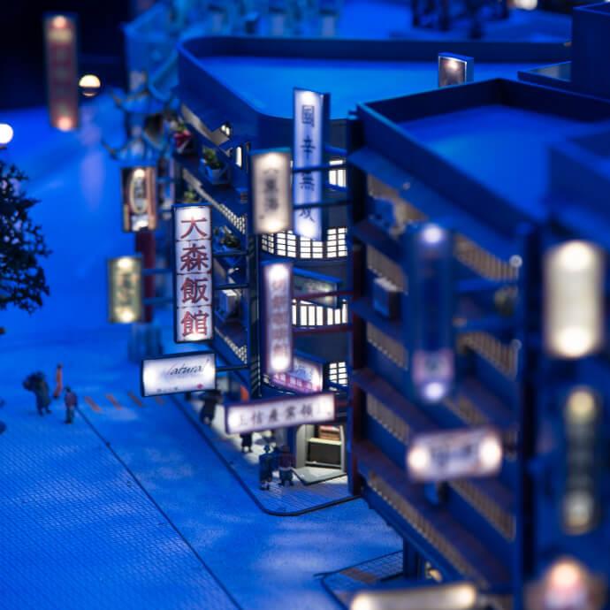 SMALL WORLDS TOKYO 世界の街並みエリア