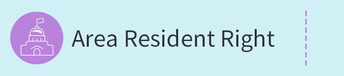 Area Resident Right