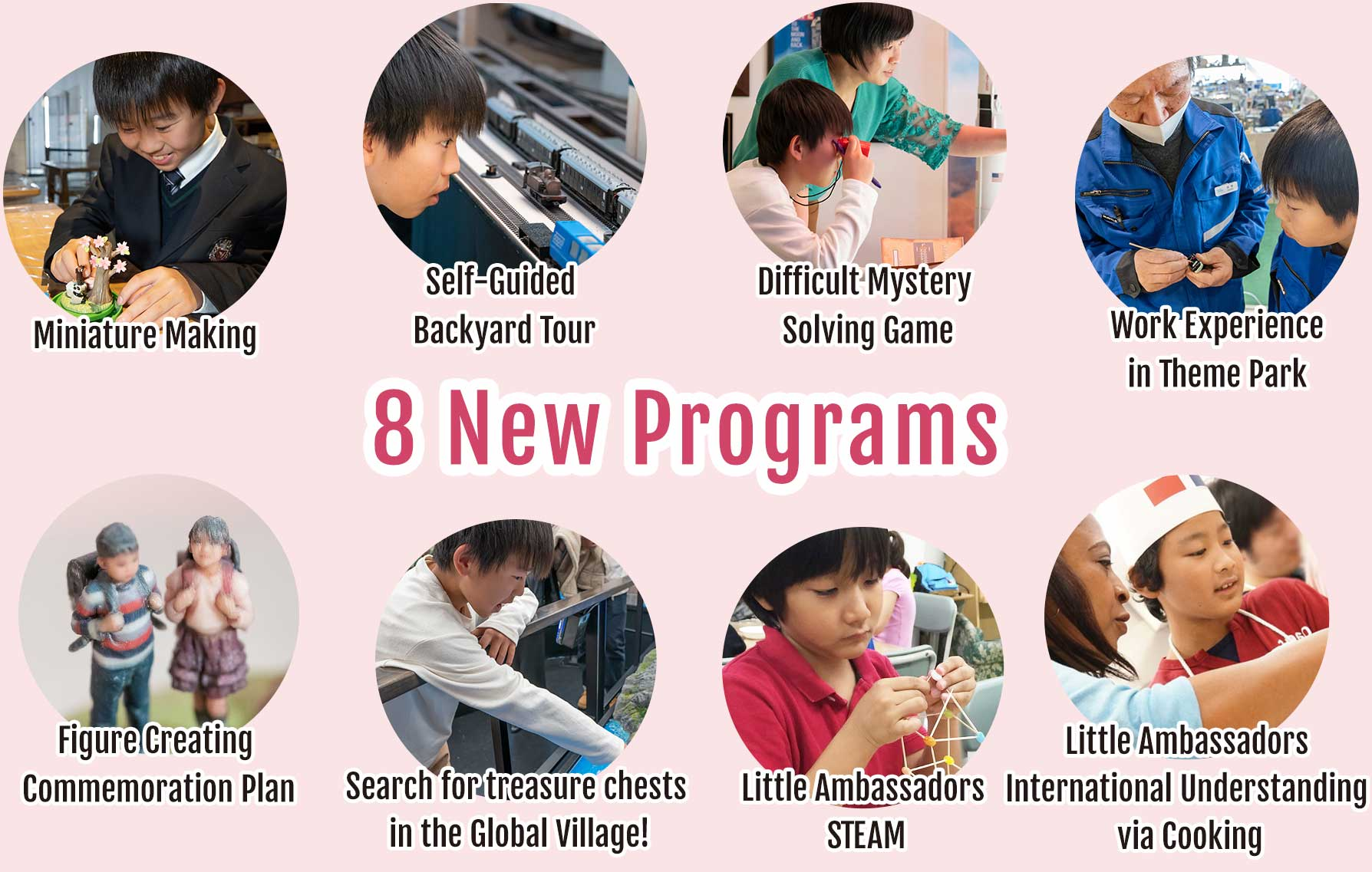 Great news! New spring programs